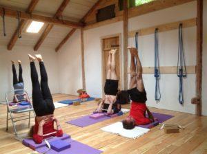 yoga retreat french alps