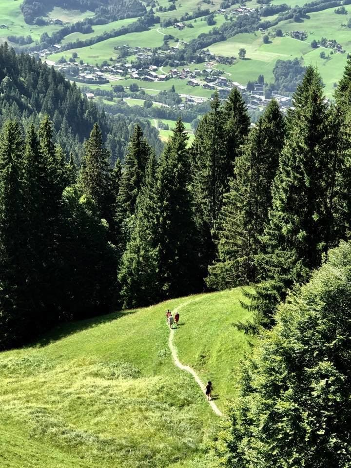 yoga and hiking retreat french alps