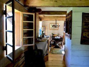 view through the house