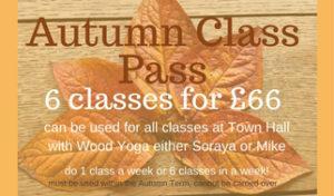 autumn yoga class pass